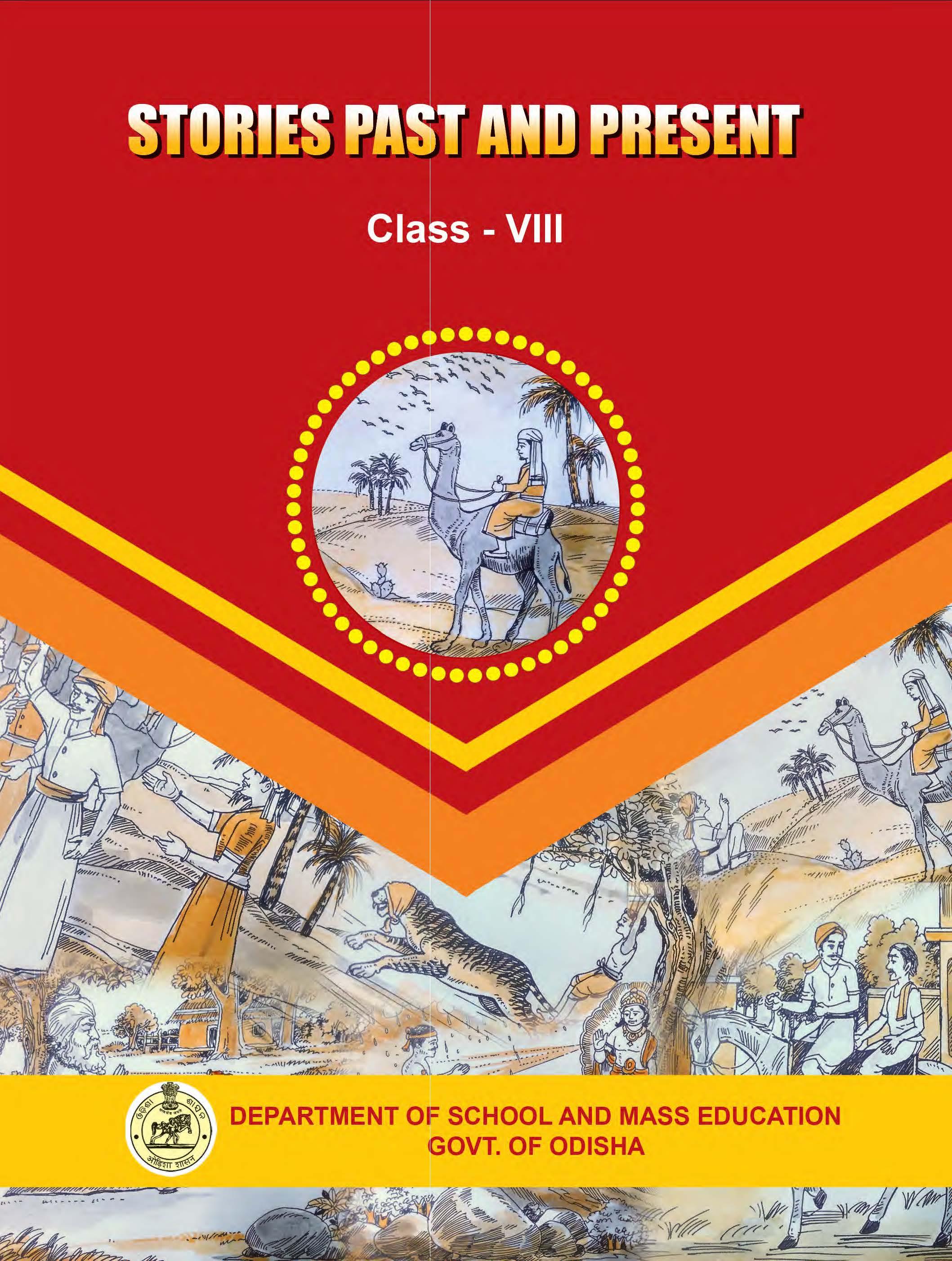 Stories Past Present Class-VIII