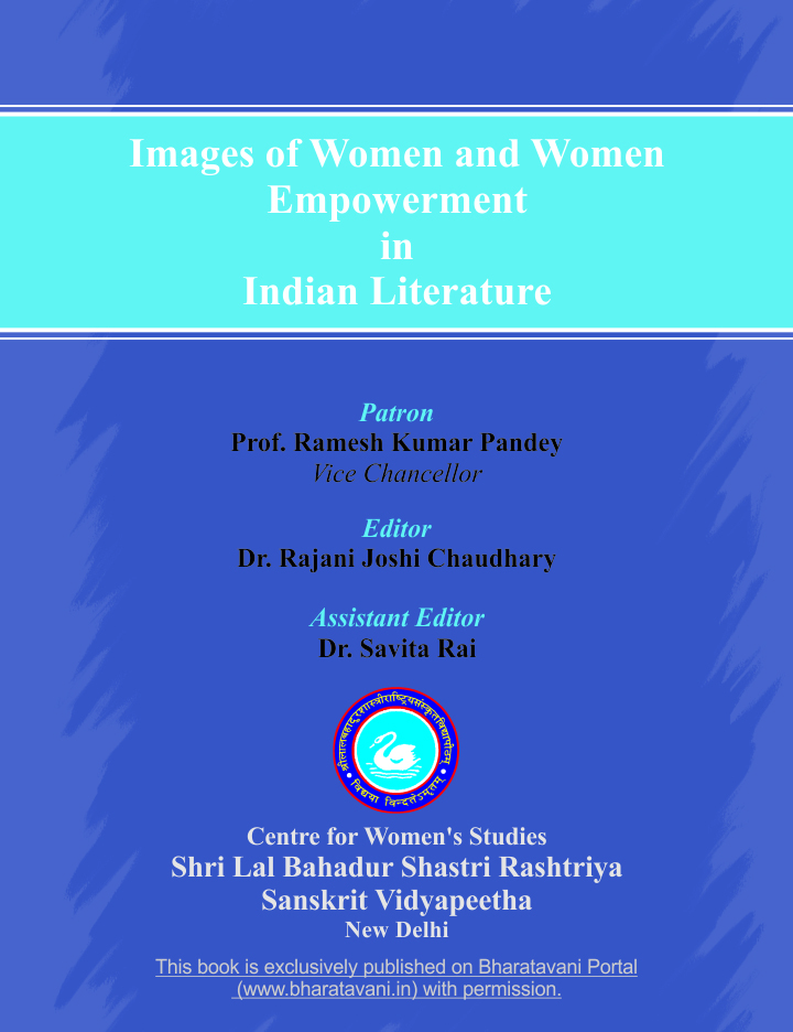 Images of Women and Women Empowerment in Indian Litierature