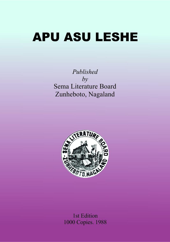 Apu Asu Leshe, Class-XI-XII & B.A