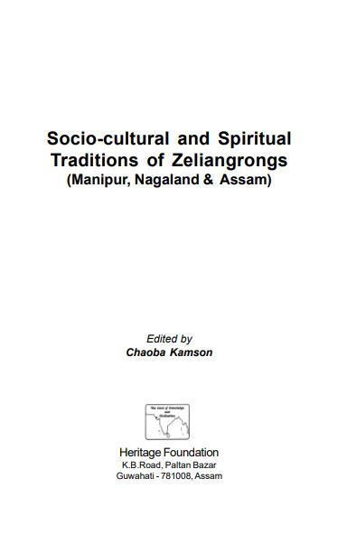 Socio-Cultural and Spiritual Traditions of Zeliangrongs