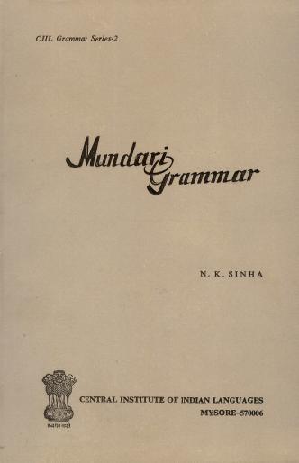 Mundari Grammar