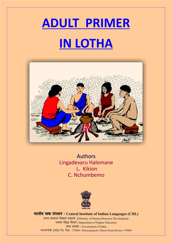 Adult Primer in Lotha