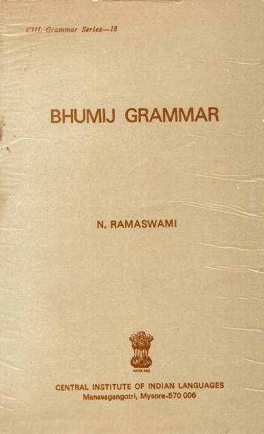 Bhumij Grammar